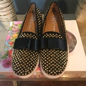 Jeffrey Campbell loafer sneakers.